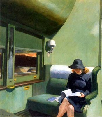 Edward hopper-compartiment c voiture 193