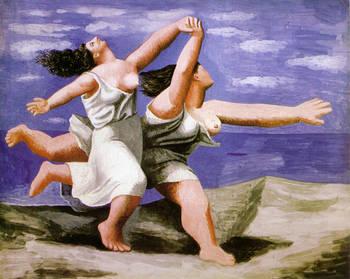 Picasso_deux-femmes-courant-surla-plage-1922