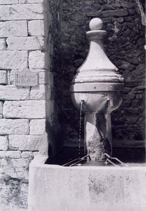Fontaine Montbrun