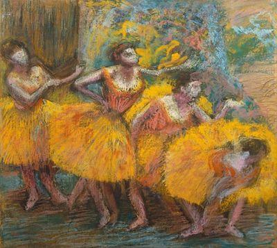 Degas-Danseuses-aux-jupes-jaunes-1903
