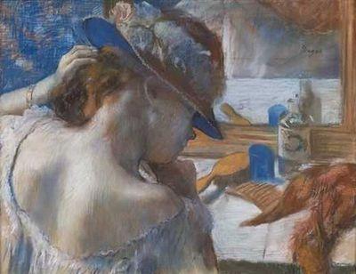 Edgar-degas-devant le miroir 1889
