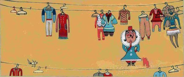Les habits neufs de l empereur illustre par parastou haghi