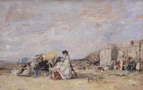 EugeneBoudin_Dame_en_blanc_1869