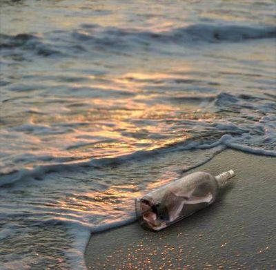 Une bouteille à la mer3ae3bb05
