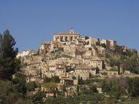 Avril gordes Provence
