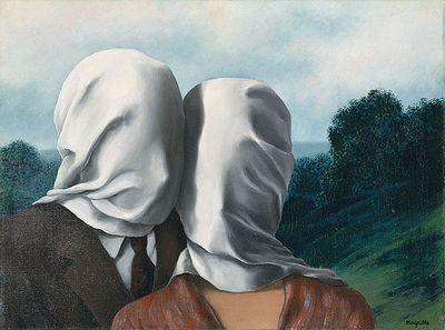René magritte  les amants148052